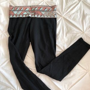 Victoria's Secret PINK leggings with rein stone